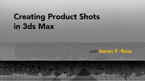 Goodbye: Creating Product Shots in 3ds Max