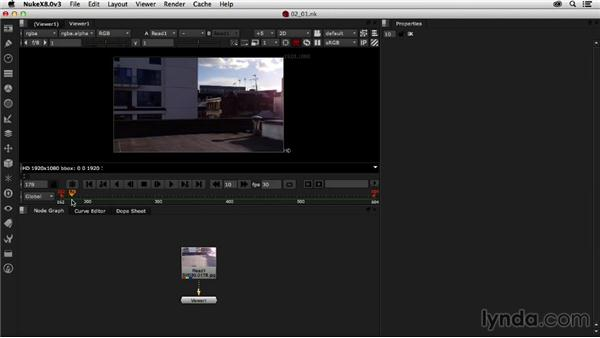 Understanding the needs of 3D camera tracking: Creating a Show Open in Nuke X and CINEMA 4D