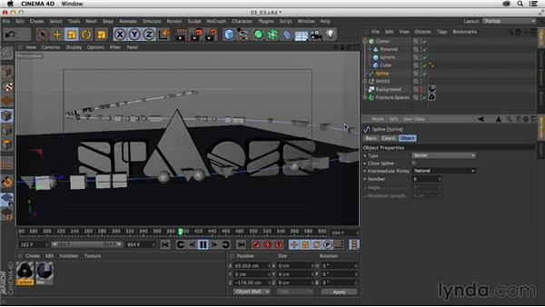 Adding 3D objects to the scene: Creating a Show Open in Nuke X and CINEMA 4D