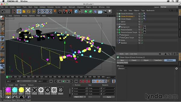 Randomizing particle motion: Creating a Show Open in Nuke X and CINEMA 4D