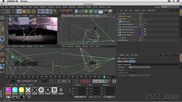 Lighting the scene: Creating a Show Open in Nuke X and CINEMA 4D