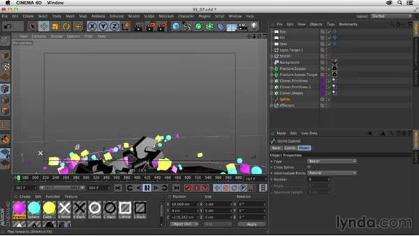 Finalizing the animation: Creating a Show Open in Nuke X and CINEMA 4D
