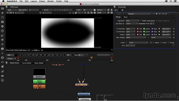 Color grading the shot: Creating a Show Open in Nuke X and CINEMA 4D