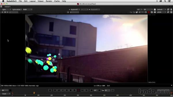 Importing the rest of our sequence: Creating a Show Open in Nuke X and CINEMA 4D