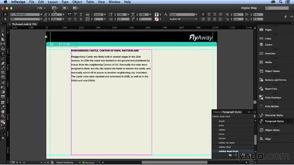 Creating the gallery section: Designing a Digital Magazine