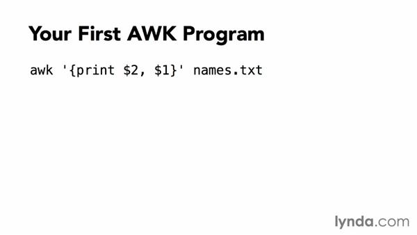 Welcome: AWK Essential Training