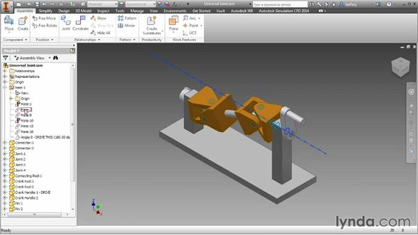 Introduction to assemblies : Inventor 2014 Essential Training