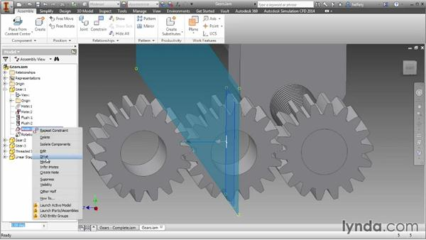 The Motion tab: Inventor 2014 Essential Training