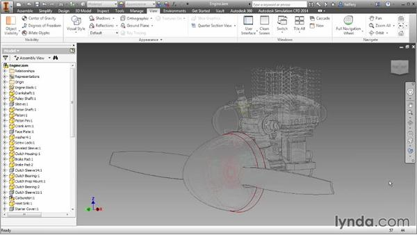 Visual styles: Inventor 2014 Essential Training