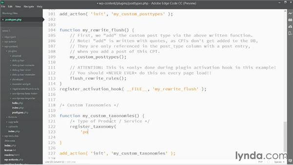 Creating basic custom taxonomies: WordPress: Custom Post Types and Taxonomies