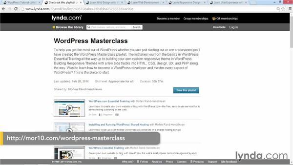 Thank you!: WordPress: Custom Post Types and Taxonomies