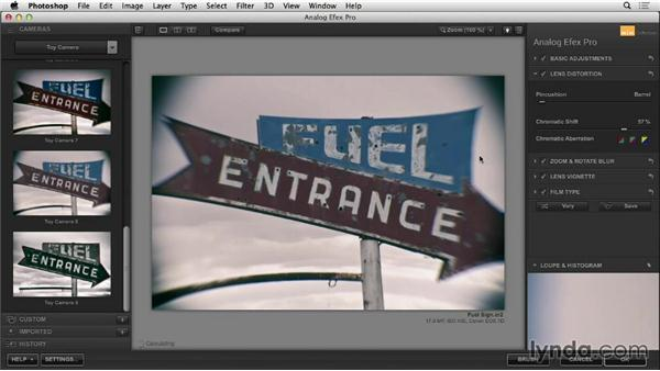 Lens Distortion: Learning Analog Efex Pro