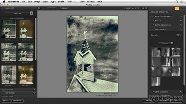 Photo Plate effects: Learning Analog Efex Pro