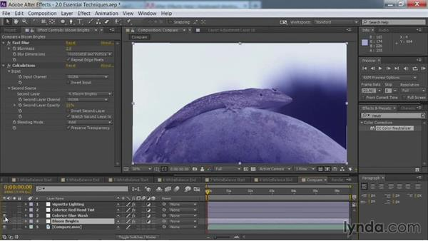 Comparing effects: After Effects Guru: Color Grading Footage