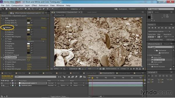 Creating duotone effects: After Effects Guru: Color Grading Footage