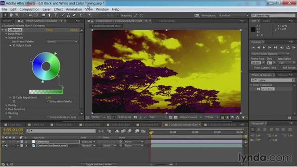 Creating custom gradients: After Effects Guru: Color Grading Footage