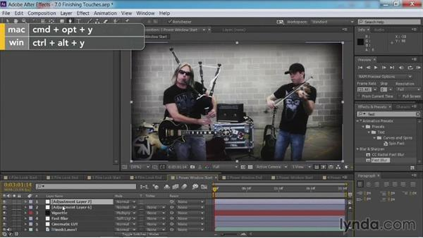 Adding a power window: After Effects Guru: Color Grading Footage