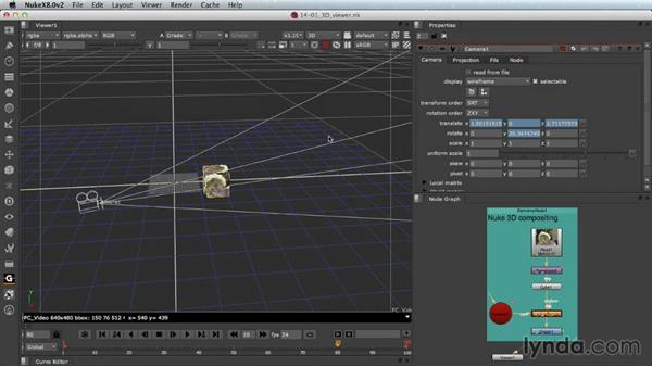 The 3D Viewer: Nuke Essential Training