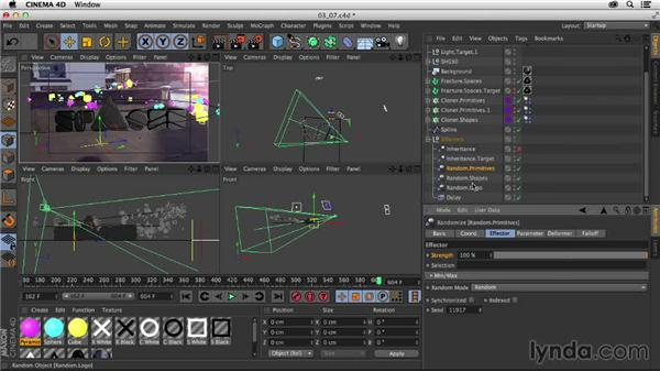 Finalizing the animation: Creating a Show Open in After Effects and CINEMA 4D