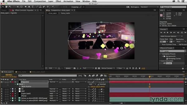 Color grading the shot: Creating a Show Open in After Effects and CINEMA 4D