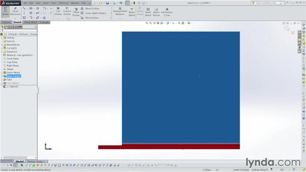 Building tabs: Sheet Metal with SOLIDWORKS: Enclosure Design Project