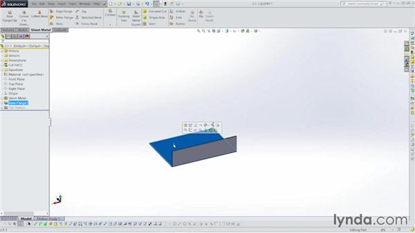 Building the rough enclosure shape: Sheet Metal with SOLIDWORKS: Enclosure Design Project
