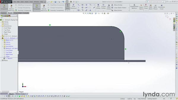 Designing the cover: Sheet Metal with SOLIDWORKS: Enclosure Design Project