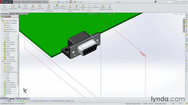 Adding components to the design: Sheet Metal with SOLIDWORKS: Enclosure Design Project