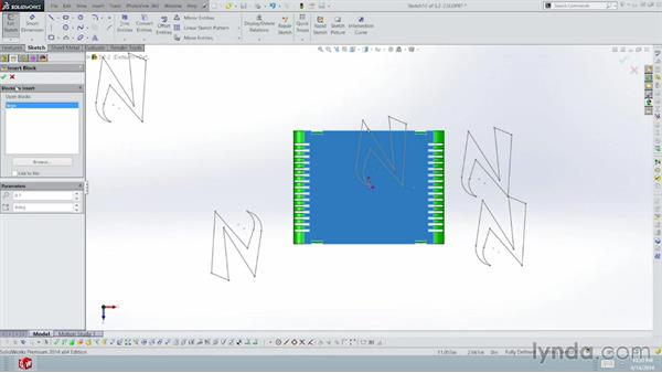 Adding graphics to parts: Sheet Metal with SOLIDWORKS: Enclosure Design Project