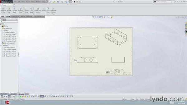 Adding part drawings: Sheet Metal with SOLIDWORKS: Enclosure Design Project