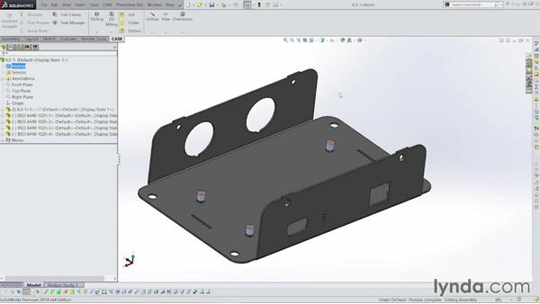 Saving to the STEP format: Sheet Metal with SOLIDWORKS: Enclosure Design Project