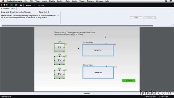 Drag-and-drop interactions: Adobe Captivate 8 First Look