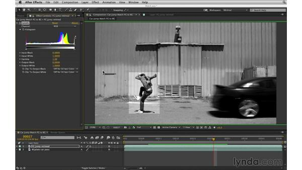 Match color in black and white: After Effects Compositing 02: Matching Foreground to Background