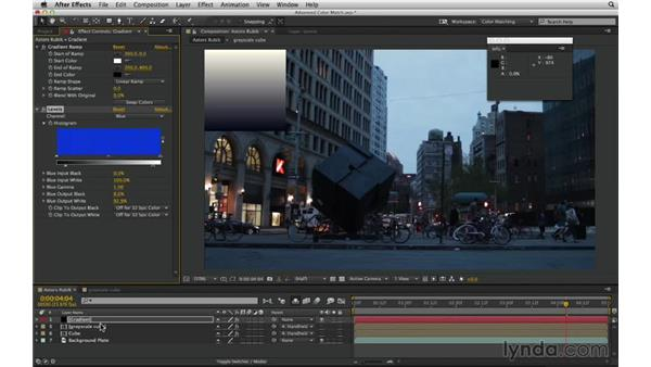 Prepare for an extreme match: After Effects Compositing 02: Matching Foreground to Background