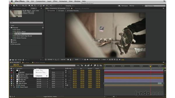 Analyze a complex shot with Uber key and the composition flowchart: After Effects Compositing 02: Matching Foreground to Background