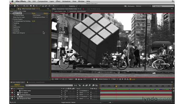 Spot grain mismatches and match grain: After Effects Compositing 02: Matching Foreground to Background