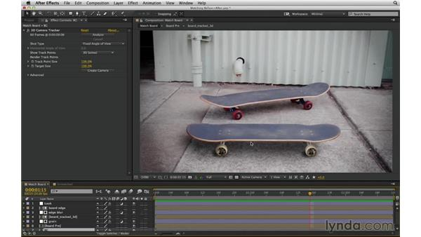 Compositing is matching: After Effects Compositing 02: Matching Foreground to Background
