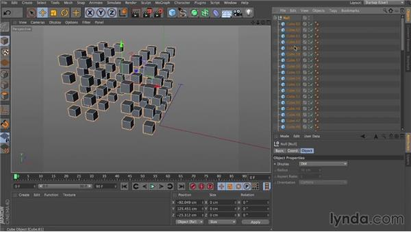 Dynamic hierarchies: Dynamics in CINEMA 4D