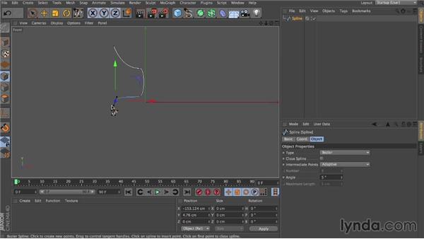 Collision shape: Dynamics in CINEMA 4D