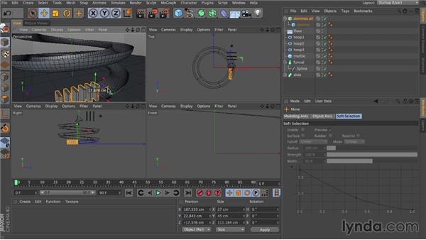 Creating a crazy machine: Dynamics in CINEMA 4D