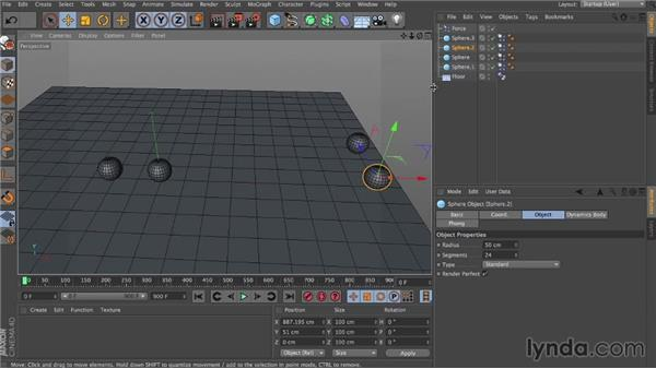Force: Dynamics in CINEMA 4D