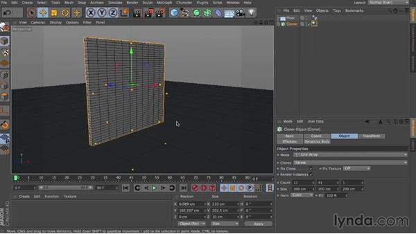 Trigger collision: Dynamics in CINEMA 4D