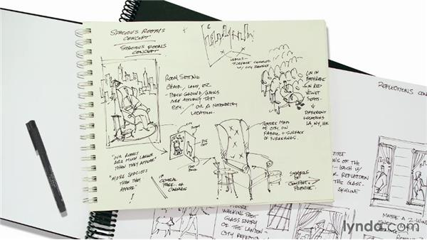 What are thumbnail sketches?: Designing a Print Ad