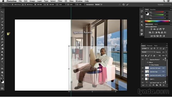 Tweaking, tuning, and variation: Designing a Print Ad