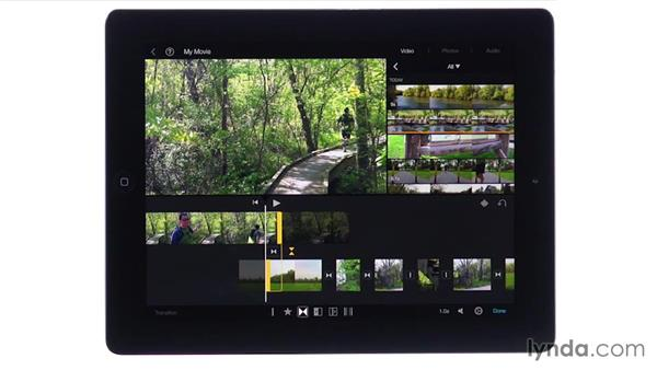 Using the Precision Editor: iMovie for iOS Essential Training