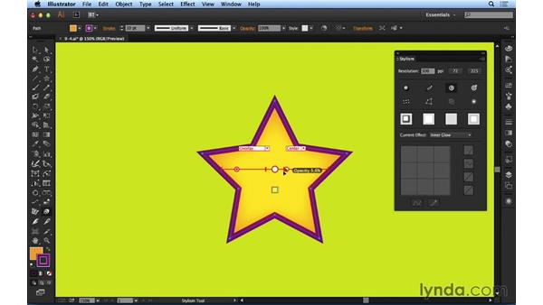 Working with Inner Glow and Outer Glow: Up and Running with Astute Graphics for Illustrator