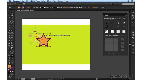 Working with Transform effects: Up and Running with Astute Graphics for Illustrator