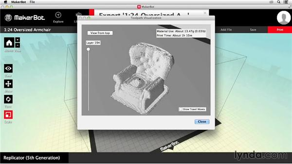 Printing via external media: Getting Started with MakerBot 3D Printers