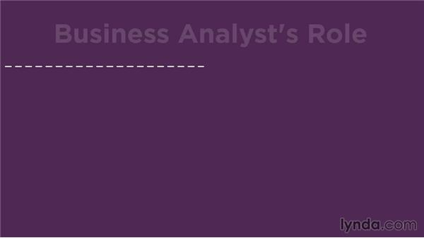 Understanding what business analysts do: Business Analysis Fundamentals