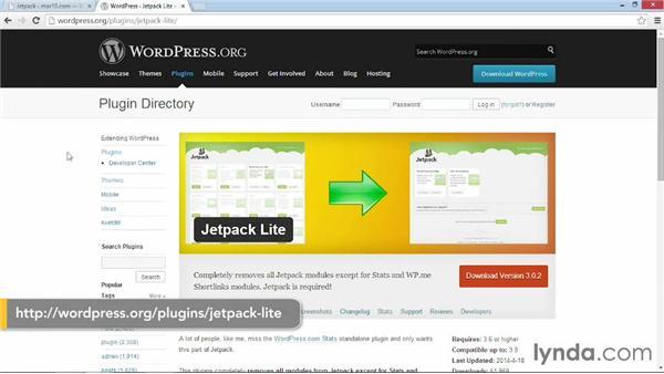 Configuring Jetpack Site Stats settings: WordPress Plugins: Analytics